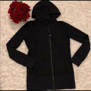 women's lululemon long fit full zip hoodie